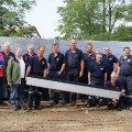 21.08.2015 Hochwasserschutz-Probeaufbau